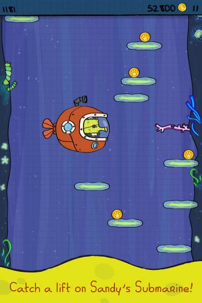 doodle jump spongebob squarepants apk android apk doodle jump spongebob