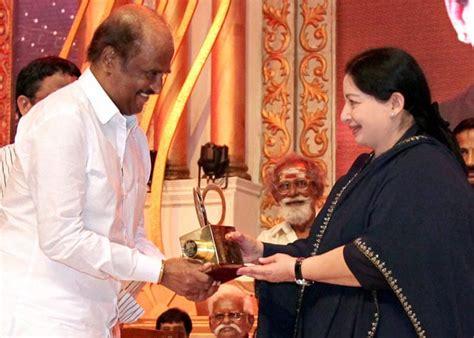 jayalalithaa felicitates tamil film legends  indian