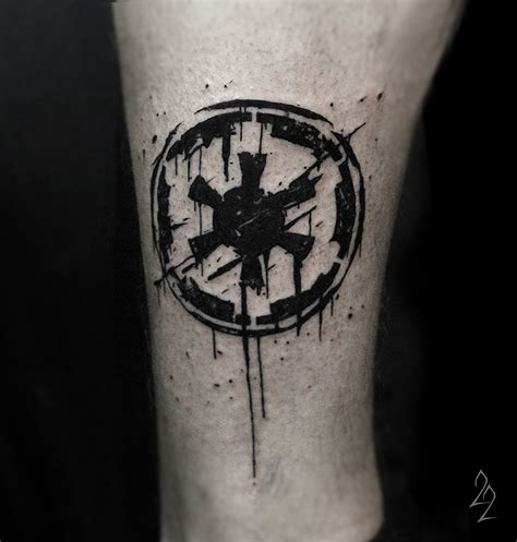 empire tattoo wars galactic empire
