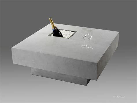Table Beton Cire Exterieur 3584 by Interieur Exterieur Table Chagne