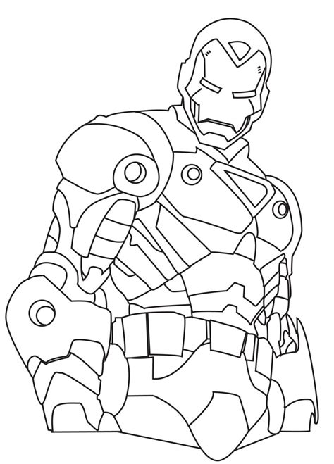 Ironman Coloring Pages 187 Coloring Pages Kids Iron Pictures To Colour