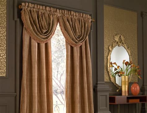 modern luxury window curtains to enhance warmth at your