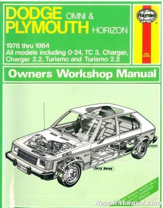 1978 1990 haynes manual dodge omni plymouth horizon auto repair book autorepair haynes handy used haynes dodge omni plymouth horizon 1978 1989 auto repair manual