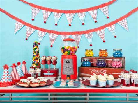 kids birthday party decorations at home diy favors and decorations for kids birthday parties hgtv