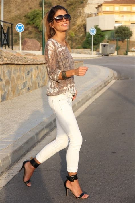 The White Jean Is All About And Summer by 15 Best Images About Black Ankle Ideas On
