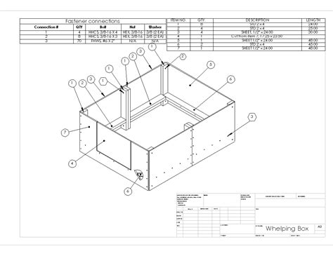 Large House Blueprints by Building A Whelping Box For Our Great Dane Vroom Amp Boom