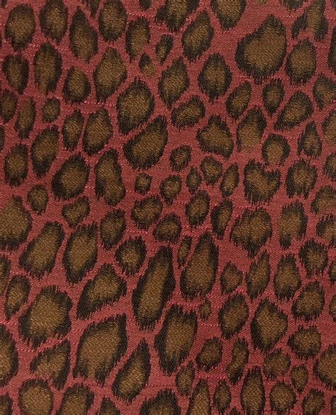 leopard print upholstery fabric pink brown leopard animal print upholstery fabric by