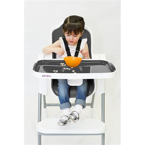 High Chair 3 Months - oribel cocoon 3 stage high chair slate 6months to 3years