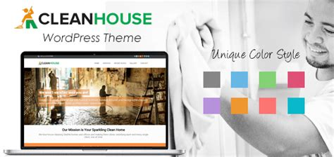 themes of the clean house cleanhouse housekeeping cleaning website inkthemes