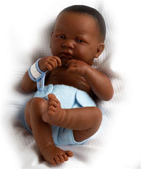black doll boy black dolls la newborn real boy american 18506