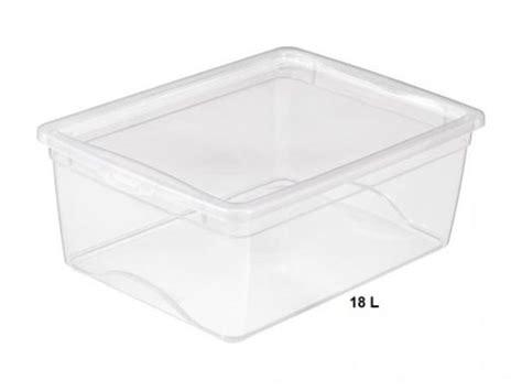 am駭ager une cuisine en longueur boite rangement chaussures en plastique transparente avec