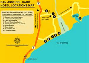 San Jose Del Cabo Map by Mapas Maps Stephanie Amp Peter S Wedding