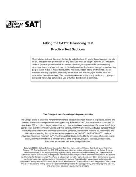 sections of sat sle sat paper