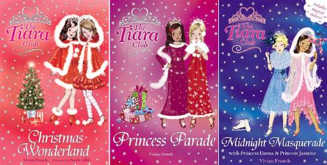 the tiara club christmas book sets