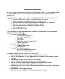 event planning business plan template business plan template 11 free word pdf documents