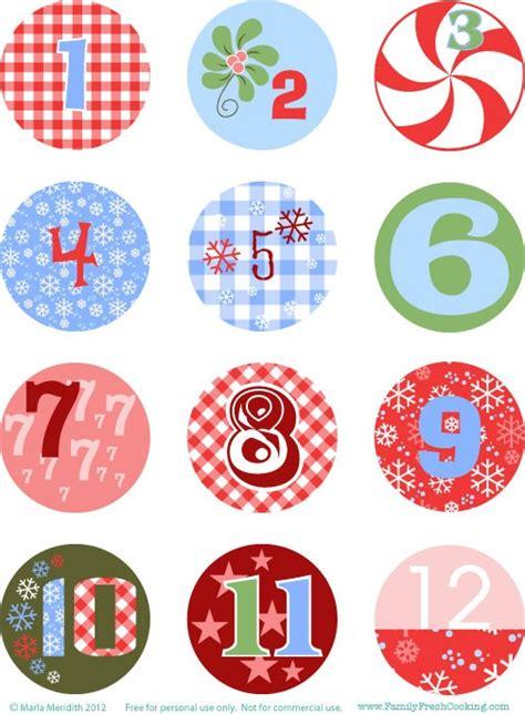 images of christmas numbers diy freebie advent calendar marla meridith