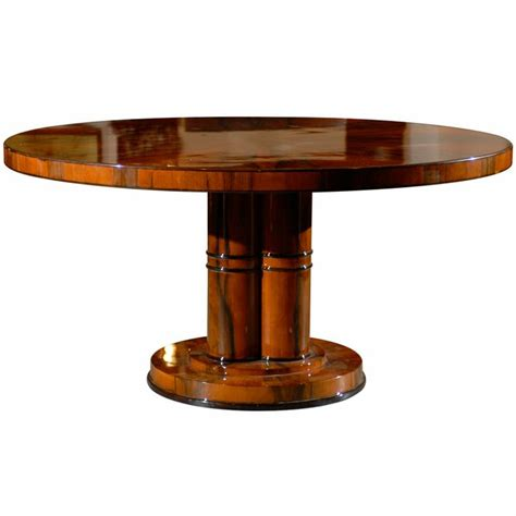 modern round dining room tables art deco round dining table from a unique collection of
