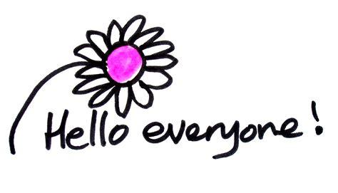 Hello Everyone My Favorite Season by Hello Flower Books