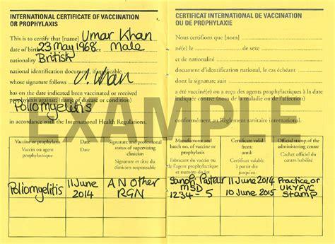 Immunization Card Template Russian by Polio Vaccination Certificate
