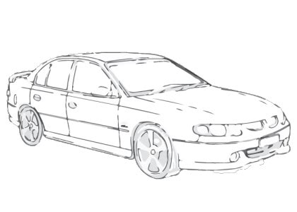 coloring pictures of holden cars holden commodore 2000 2002 vx series i ii vu aerpro