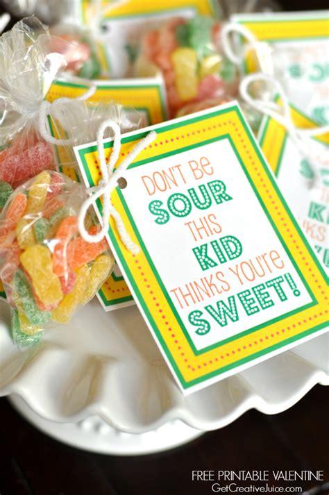 printable valentines  kids creative juice