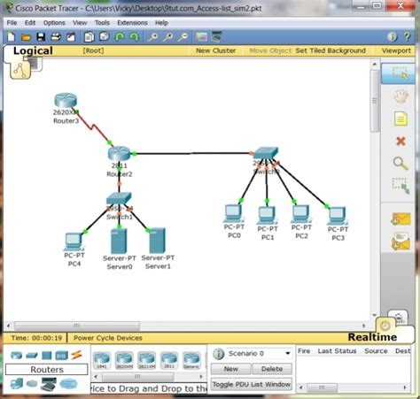 cisco packet tracer student tutorial pdf cisco certified network associate ccna certification