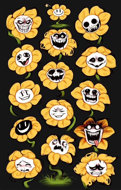 libro the path to genocide the many faces of flowey undertale horror amino