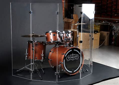 Acrylic Drum Shield acrylic drum shield ftempo