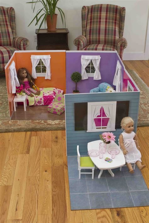 how to make an american doll room of three s craft american doll rooms the gift that keeps on giving