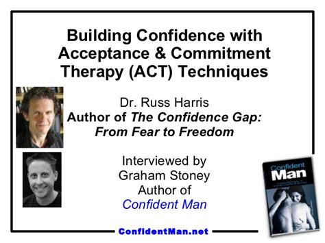 learning act an acceptance and commitment therapy skills manual for therapists books building confidence with acceptance commitment therapy