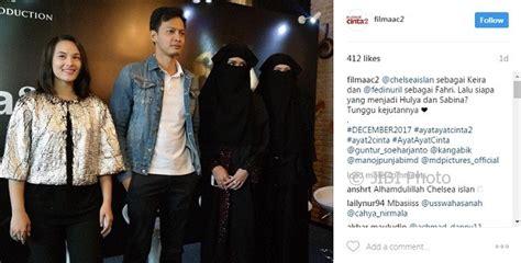 film ayat ayat cinta 2 full film terbaru chelsea islan dan fedi nuril bintangi ayat