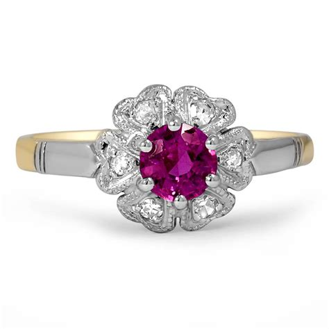 ruby engagement rings amazing antique ruby engagement rings brilliant earth