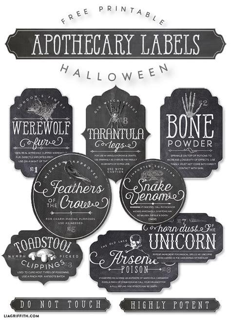 printable halloween jar labels printable halloween apothecary bottle labels worldlabel blog