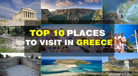 places to apply for top 10 places to visit in greece schengen visa