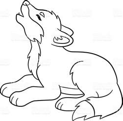 Cute Wolf Coloring Pages Arctic Wolf Coloring Pages Baby Wolf Coloring Pages