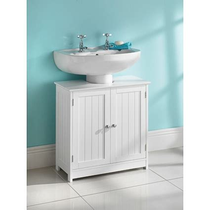 Bathroom Cabinets Sink Storage White Wood Sink Cabinet Bathroom Storage Unit