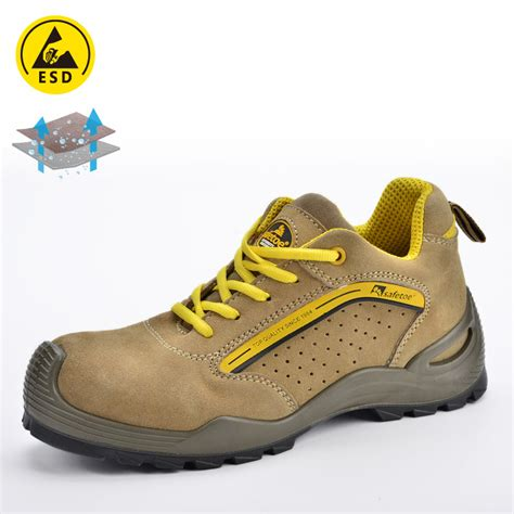Safety Shoes Safetoe Capella L 7296 experienced supplier of safety shoe for summer yellow l 7296yellow