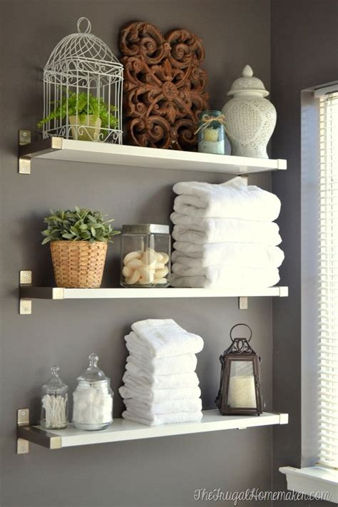 the 25 best bathroom shelves ideas on