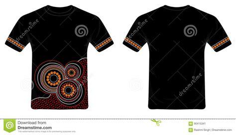 design art t shirt aboriginal art t shirt design vector stock vector image
