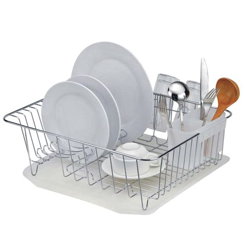 Dish Rack Drainer by Leveled Dish Drainer Masflex