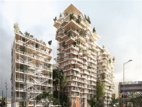 A Frame Building Plans by Bordeaux Canopia Tower Will Be One Of The Tallest Timber