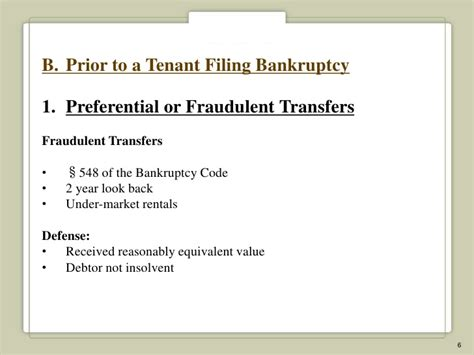 section 547 bankruptcy code commercial landlord s guide to dealing with issues in