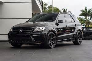 Mercedes Ml63 For Sale 2014 Mercedes Ml63 Amg Inferno Black Cars For