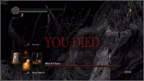 bed of chaos fight the bed of chaos how to kill a boss dark souls game