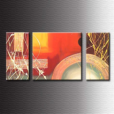 cuadro modernos abstractos como hacer cuadros tripticos abstractos imagui