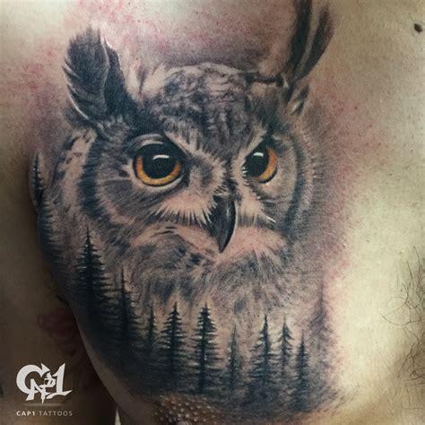 realistic owl tattoos cap1 tattoos tattoos capone realistic owl