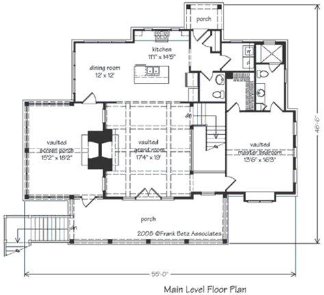 laurel river house plan wolf laurel house floor plan frank betz associates