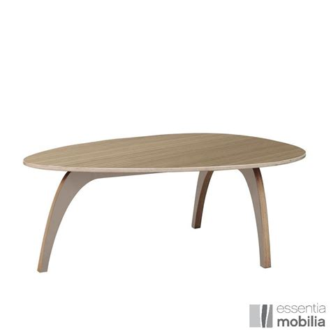 table basse bois clair mod 232 le table basse ovale bois tables basses tables and salons