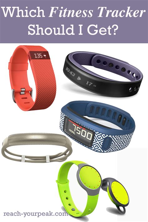 Which Fitness Tracker Should I Get?   Reach Your Peak