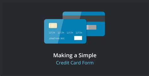 Credit Card Form Validation Script a simple credit card validation form tutorialzine